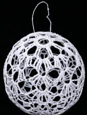 Ornament de brad - croşetat
